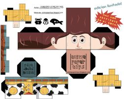 Woody Cubeecraft part one by snuffle12321