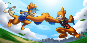 Buizel Bro Fist! by BuizelCream