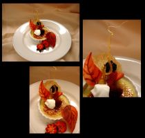 Fall theme Creme Brulee by megami195