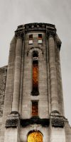 The Bell Tower 5 Picture Vertical Panorama by Joe-Lynn-Design