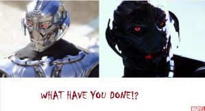 WHAT HAVE YOU DONE TO ULTRON!?!? by BioStratos