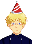 luv that party hat by Qwllly