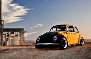 yellow beetle by hand-operated14