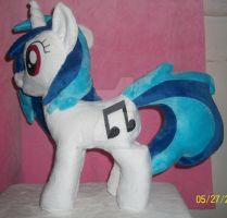 Vinyl Scratch #2  (eBay Commission) by SiamchuchusPlushies
