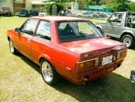 1981 Toyota Corolla rear view by Mister-Lou