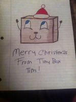 Merry Christmas from Cutie Box Tim by ZeldaGirl23