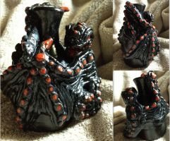 Death Dragon Vase by SonsationalCreations