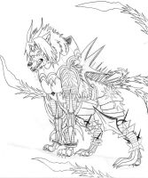Beast Form Haseo by Suenta-DeathGod