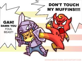 Never Touch His Muffins by ShiroiNeko-sama