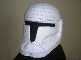 Clone Commando Helmet - For vaderboy by distressfasirt