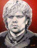 Tyrion Lannister by Stencils-by-Chase