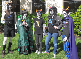 MTAC Omega Homestuck group by Chocolate-Shinigami