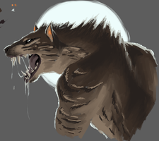 Were-Creodont? by VolBeast