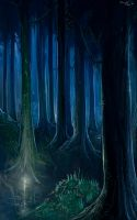Forest of Artorias by parkurtommo