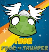 Heads Up Thor Frog by HeadsUpStudios