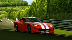 Viper GTS trackside by MercilessOne