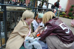 Hanging Out, Hetalia Style by Sarahcfgirl