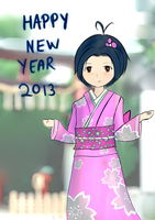 Happy new year 2013 From me by netnavi20x5