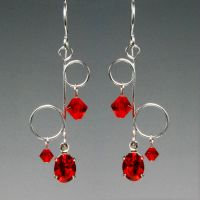 Red Dangle v2- SOLD by YouniquelyChic