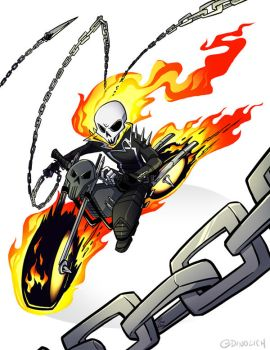 COMM: Ghost Rider by DIN0LICH