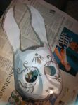 Commission WIP - Rabbit Splicer mask 2 by Mad78