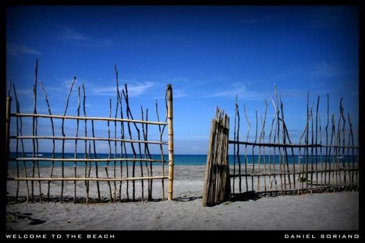 Welcome to the beach by danekalbo
