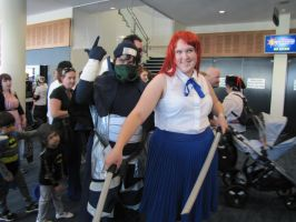SupaNova : Gold Coast : Erza and Mystogan by Dragon-Thane