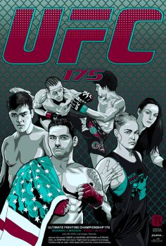 UFC 175 Poster V2 by wild7even