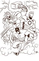 Avengers Assemble. by scootah91