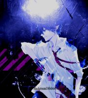 Ao no Exorcist rin background by mohren-chan