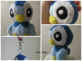 Piplup Plush Keyring by DiscoverHiddenTalent