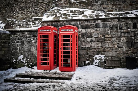 English Telephone Boothes by xo-lexus-ox