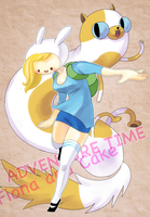 fionna and cake by nene-takagi