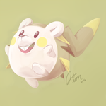 Togedemaru by melodisiaion
