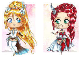 :Gift: chibi Princess by Linelana