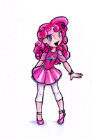 Experimental:  Pinkie Pie by enigmatia