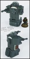 Grot Rebel Quad Gun Tower UP by Proiteus