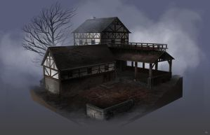 Plagued - Building Structure II by BlueRogueVyse