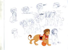 HSMcast lions by Emo-Hellion