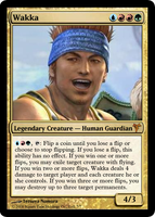 Wakka, MtG'd by eternaldeath09