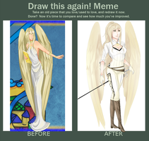 Draw this again meme: Livia by iliketodrawshit