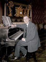 Rachmaninoff at the piano by KraljAleksandar