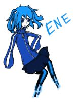 I tried to draw ENE by never-gr0wing-up