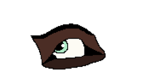 An eye by MegaJerk
