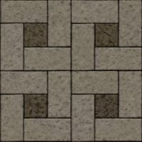 Seamless concrete stone brick tiles by hhh316
