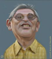 Dad Caricature by Jubhubmubfub