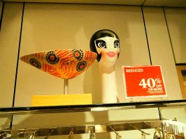 Decapitated Flapper with Bobbed Hair by Germanicus-Fink