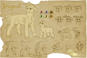 Original Species : Dragoat (OPEN) by Swarthylacine
