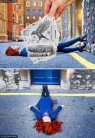 Behind the Scene - Pencil Vs Camera 57 by BenHeine