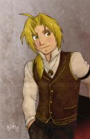 FMA - Ed in a Vest by vidramidra